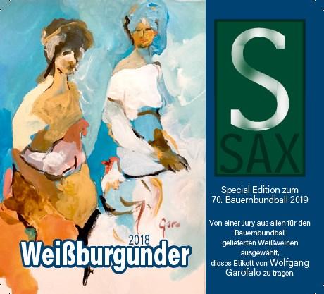 Weißburgunder 2018 Bauernbundball